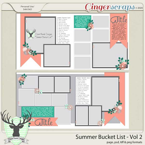 Summer Bucket List Vol 2 by Dear Friends Designs