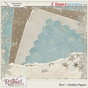 Brrr! Shabby Papers