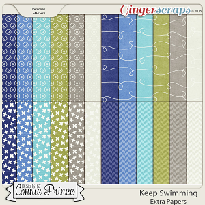Keep Swimming - Extra Papers