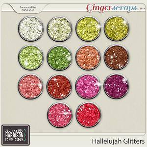 Hallelujah Glitters by Aimee Harrison