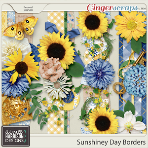 Sunshiney Day Borders by Aimee Harrison