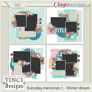 Everyday memories 1. - Winter dream