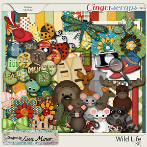 Wild Life from Designs by Lisa Minor