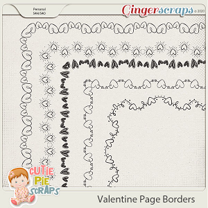 Valentine Page Borders 01