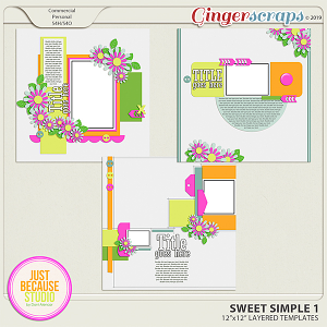 Sweet Simple Templates 1 By JB Studio