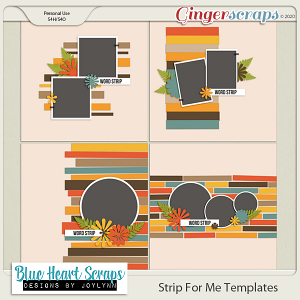 Strip For Me Template Pack