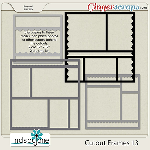 Cutout Frames 13 by Lindsay Jane