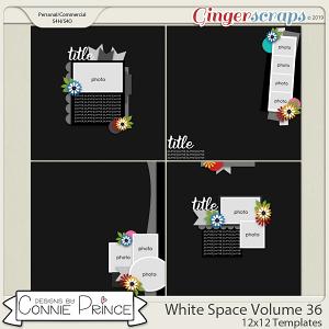 White Space Volume 36 - 12x12 Temps (CU Ok) by Connie Prince