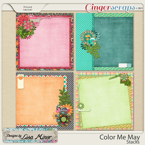 Color Me May Stacks from Designs by Lisa Minor
