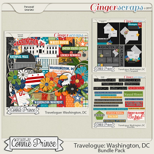 Travelogue Washington, DC - Bundle Pack
