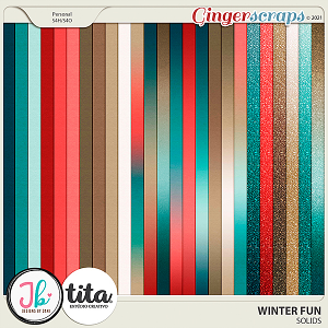 Winter Fun Solids by JB Studio and Tita