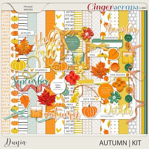 Autumn   Kit by Dunia Designs