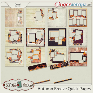 Autumn Breeze Quick Pages by Scraps N Pieces