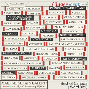 Best of Canada (word bits)