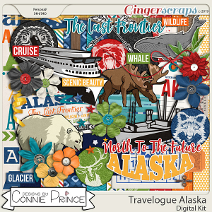 Travelogue Alaska - Kit by Connie Prince