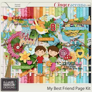 My Best Friend Page Kit by Aimee Harrison