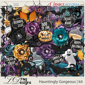 Hauntingly Gorgeous by LDragDesigns