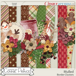 Mulled - Border Clusters by Connie Prince