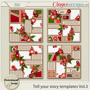 Tell your storyTemplates Vol.3