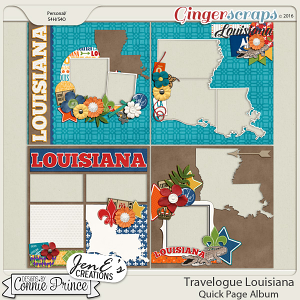 Travelogue Louisiana - QuickPage Album