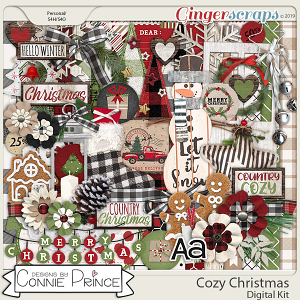 Cozy Christmas - Kit by Connie Prince