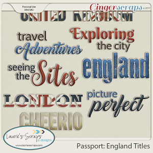 Passport: England Titles