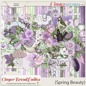GingerBread Ladies Collab: Spring Beauty