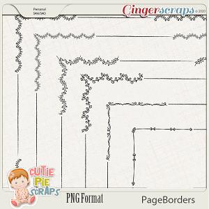 Page Borders 50 By Cutie Pie Scraps