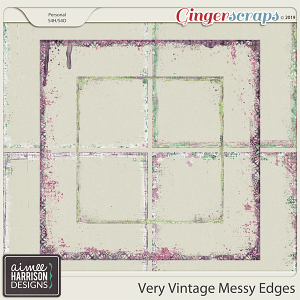 Very Vintage Messy Edges by Aimee Harrison