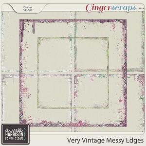 Very Vintage Messy Edges by Aimee Harrison