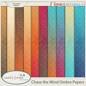 Chase The Wind Ombre Papers
