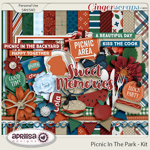 Picnic In The Park - Kit by Aprilisa Designs
