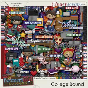 College Bound by BoomersGirl Designs