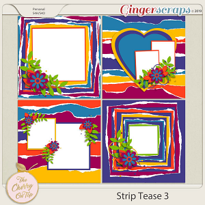 The Cherry On Top:  Strip Tease #3 Templates