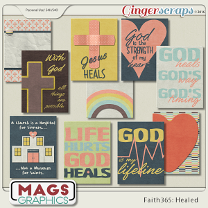 Faith365 Healed JOURNAL CARDS
