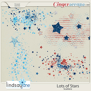 Lots of Stars Scatterz by Lindsay Jane