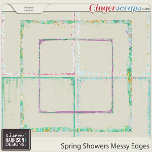 Spring Showers Messy Edges by Aimee Harrison
