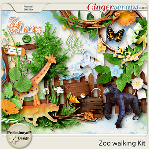 Zoo walking Kit