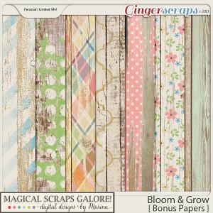 Bloom & Grow (bonus papers)