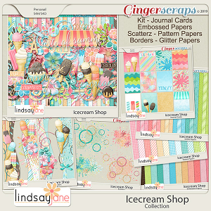 Icecream Shop Collection by Lindsay Jane