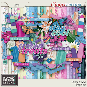 Stay Cool Page Kit by Aimee Harrison