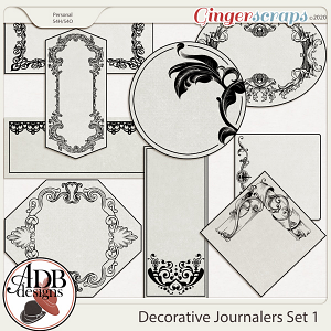 Heritage Resource Decorative Journalers Set 01 by ADB Designs
