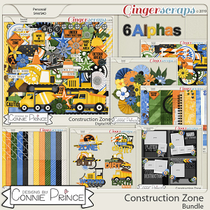 Construction Zone - Bundle by Connie Prince