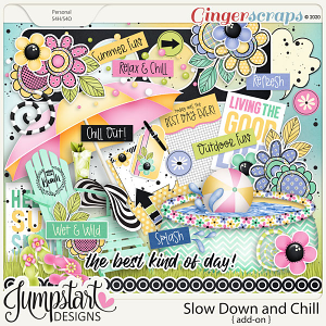 Slow Down and Chill {Add-On} by Jumpstart Designs