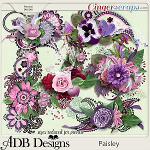 Paisley Clusters by ADB Designs