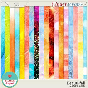 Beauti-fall magic papers
