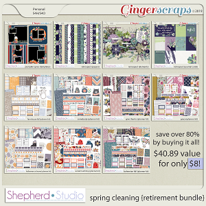 Spring Cleaning Retirement Bundle by Shepherd Studio