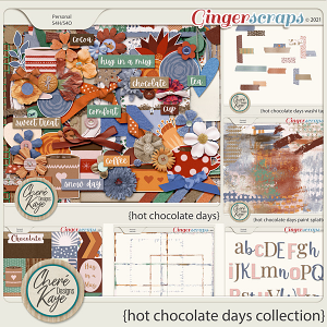 Hot Chocolate Days Collection by Chere Kaye Designs