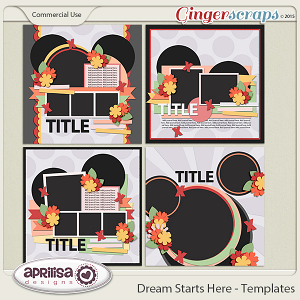 Dream Starts Here - Templates