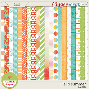 Hello summer - papers